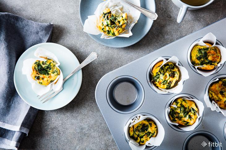 Make Ahead Mini Frittata With Greens Healthy Recipe